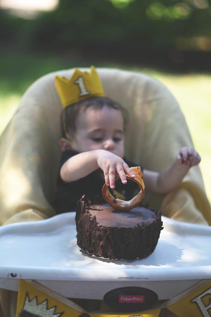 nile + smash cake